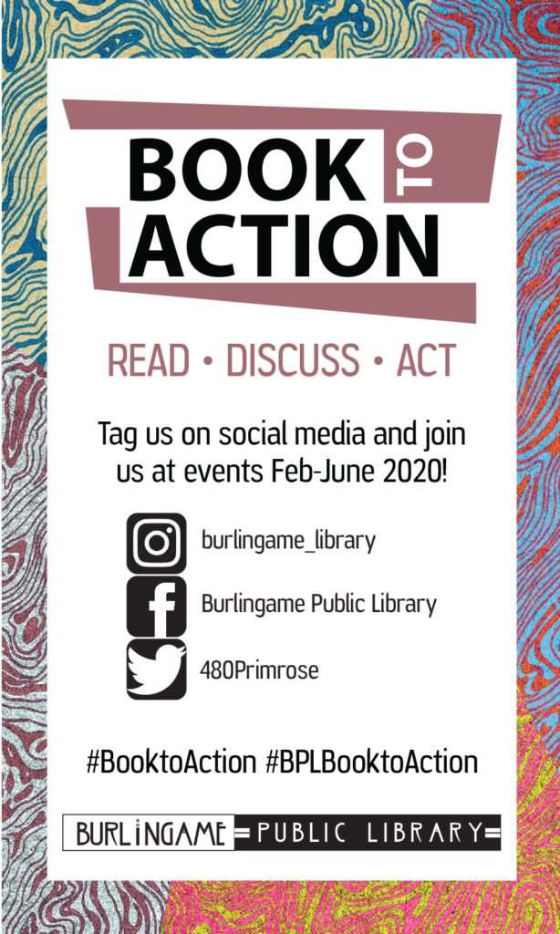 Burlingame Book to Action Bookplate
