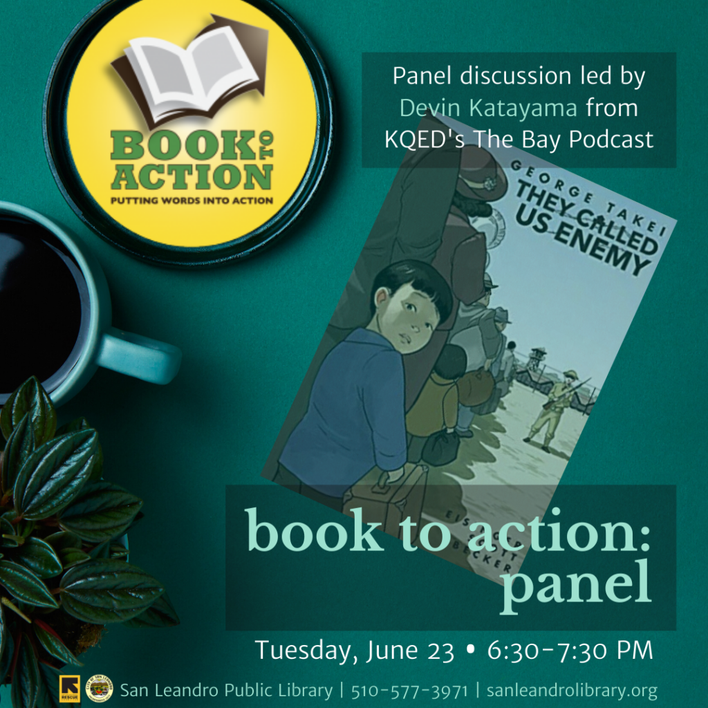 Book to Action Virtual Panel 2020, San Leandro Public Library