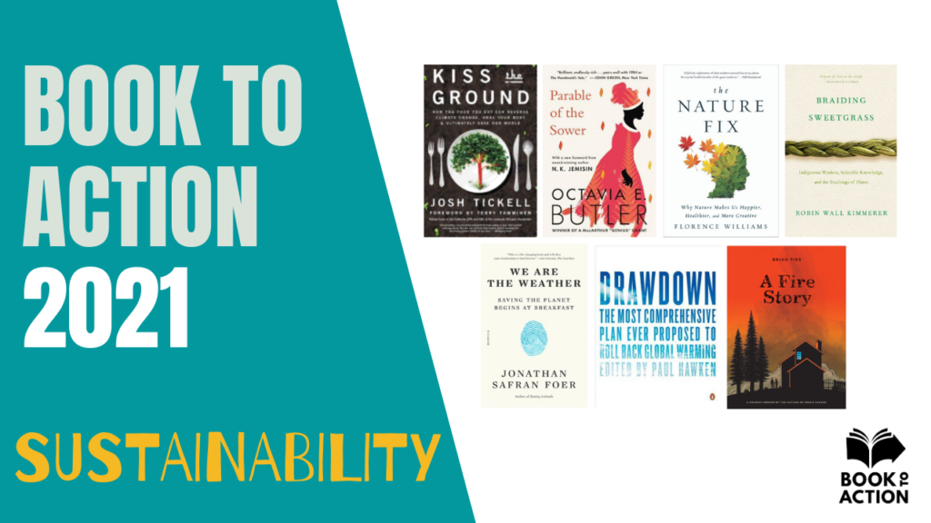 Book to Action 2021 Sustainability Image
