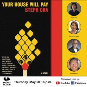 Your House will Pay book cover and speaker